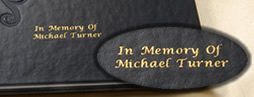 Personalized Engraving for Good Mourning