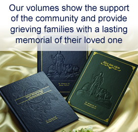 Memorial Books for Grieving Families Offered by Contemporary Concepts